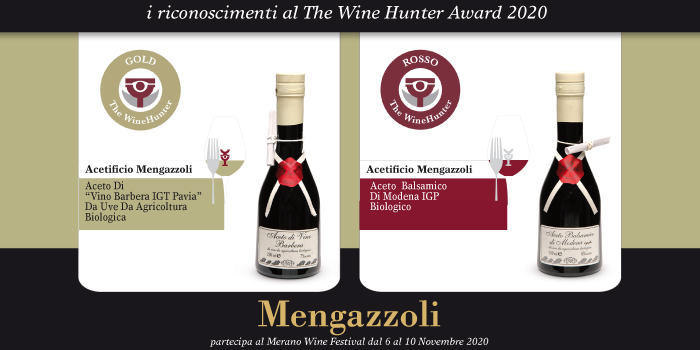 "The WineHunter Award 2020 "" Excellence is an attitude"""