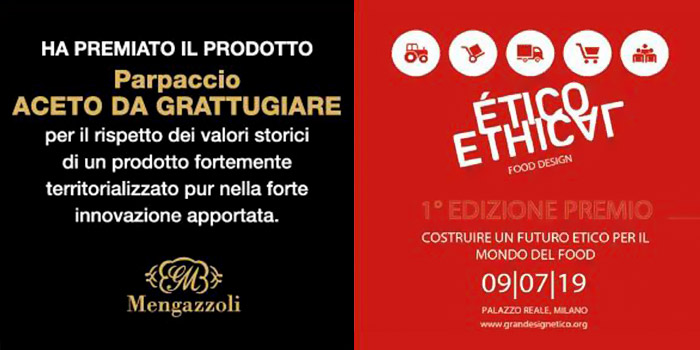 Premio Ethical Food Design per il Parpaccio